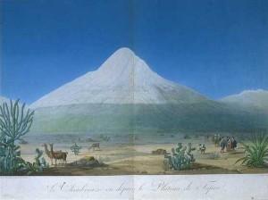 Alexander von Humboldt and Aime Bonpland. Vues des Cordillieres et Monumens des Peuples Indigenes de L'Amerique. Paris, 1810.